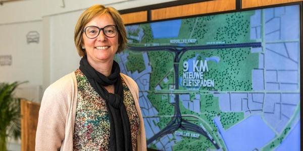 Roos Mariën, projectcommunicator van Lantis