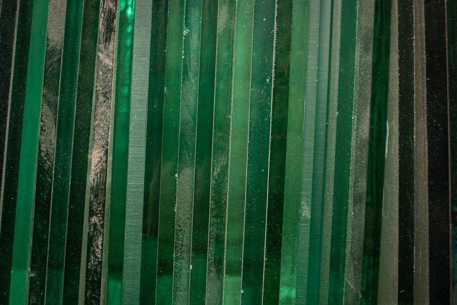 Groen glas