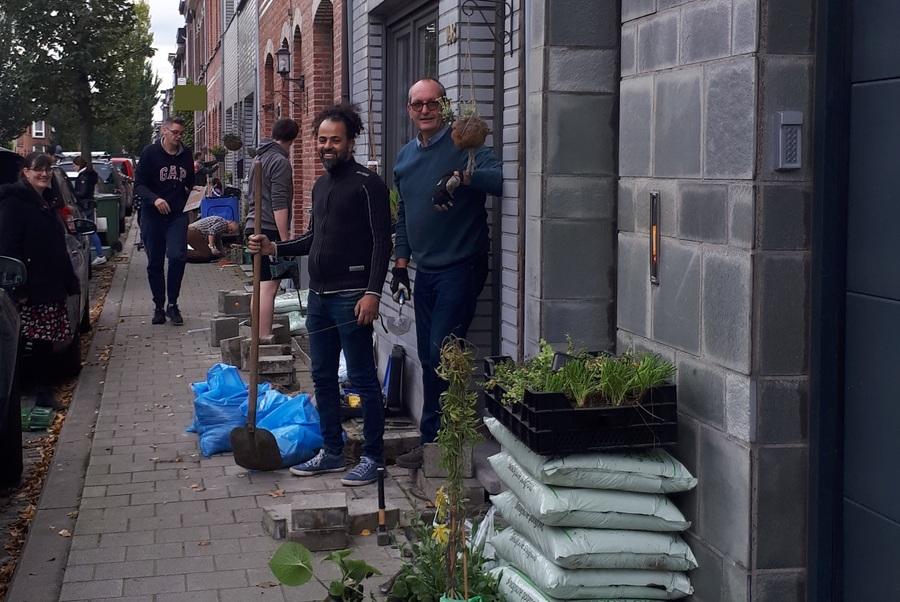 Wijkbudget Nieuwdreef - Groene Gevels