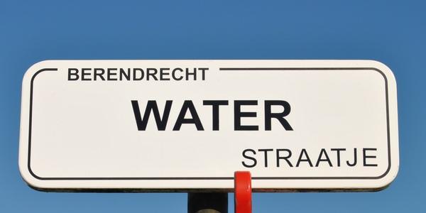 Naambord Waterstraatje
