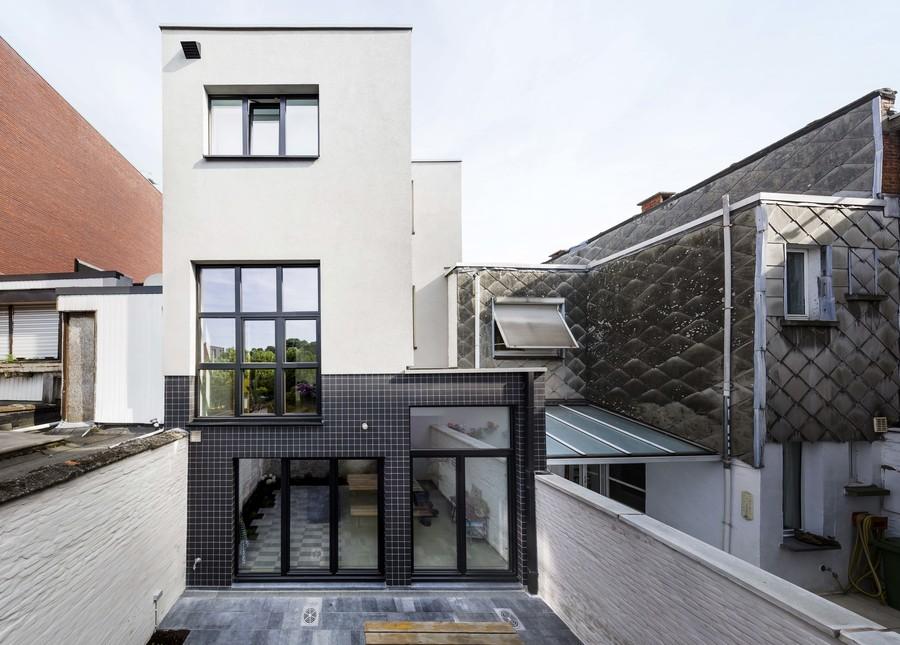Architectenwoning Walter Van den Broeck - achtergevel
