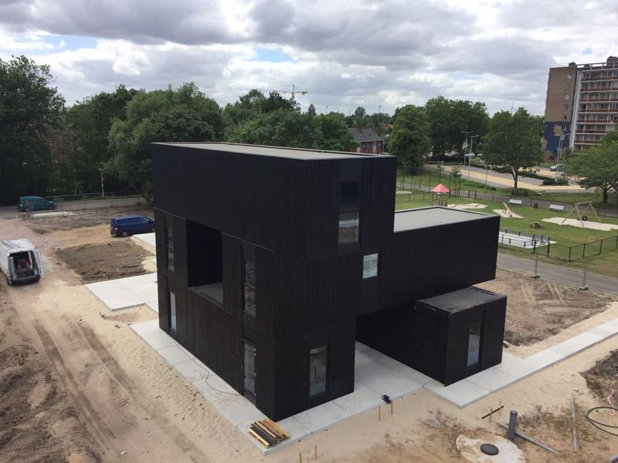 Foto container woning
