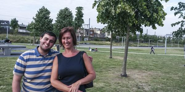 Samir en Kristel