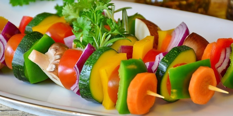 Vegetarische maaltijden zijn lekker en gezond.