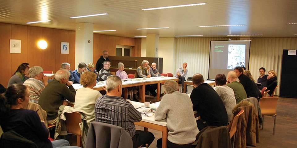 Participatiemoment tijdens de opmaak van het masterplan