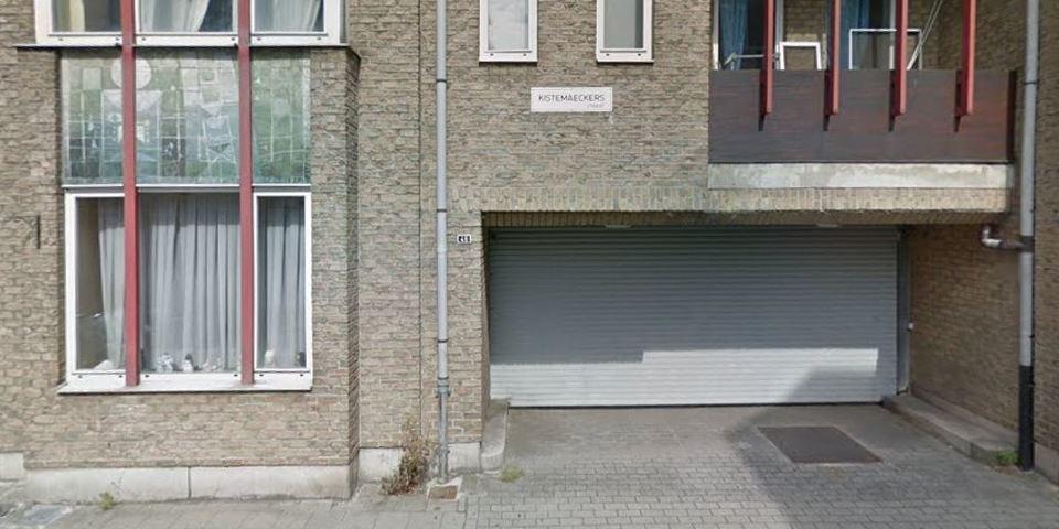 Ingang buurtparking Kistemaeckerstraat