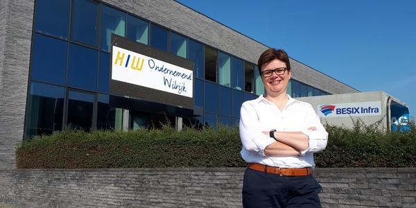 Ellen Verlinden van Handel & Industrie Wilrijk.