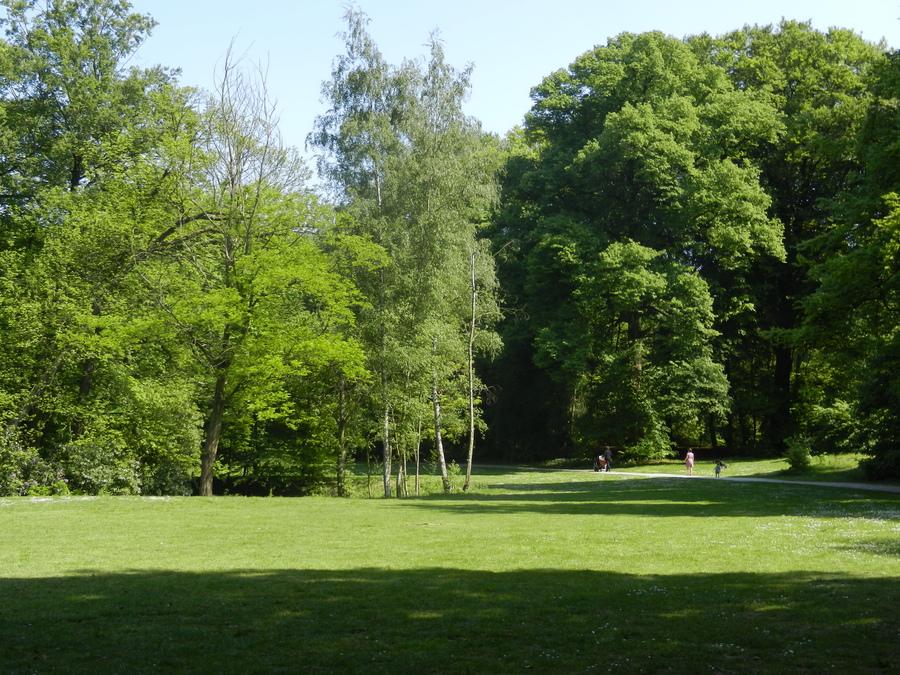 Wandel door het groen in Antwerpen.