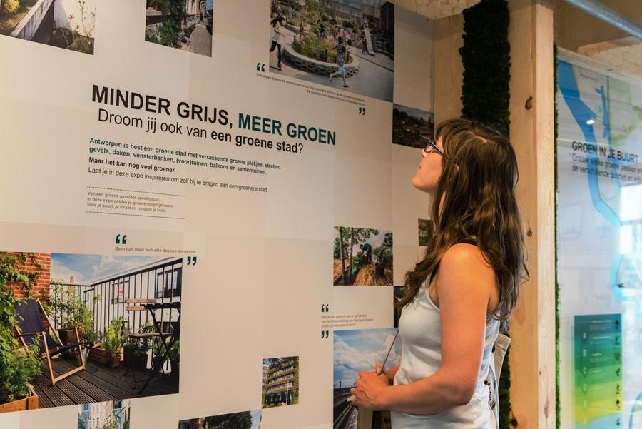 Bezoek de tentoonstelling 'Minder grijs, Meer groen' in het EcoHuis