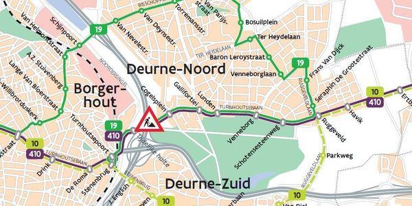 plannetje werken Turnhoutsepoort