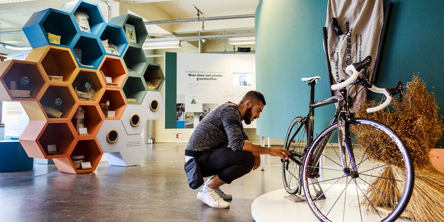 Tentoonstelling EcoHuis: materialen