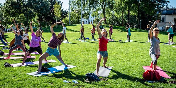 Zen in de zomer - Yoga