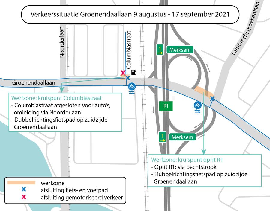 Verkeerssituatie augustus 2021