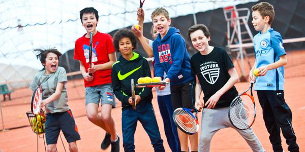 Heel wat fun op de Antwerpse Sportweek 'Tennis'