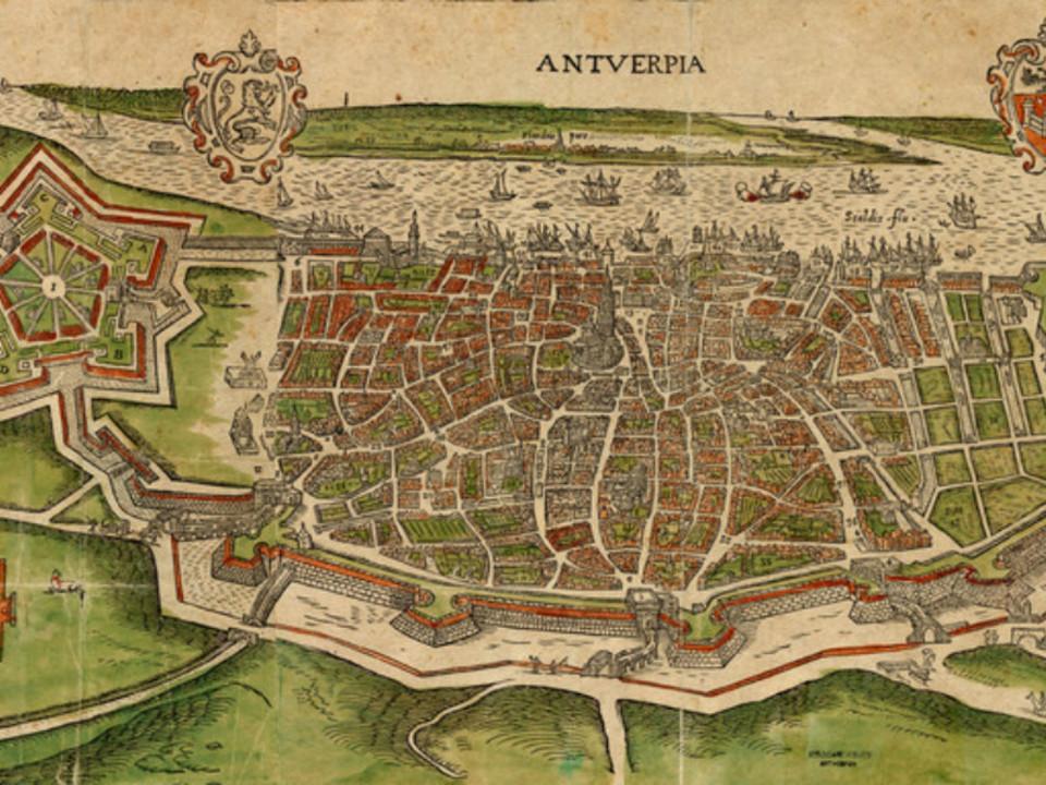 16de eeuwse Spaanse Omwalling