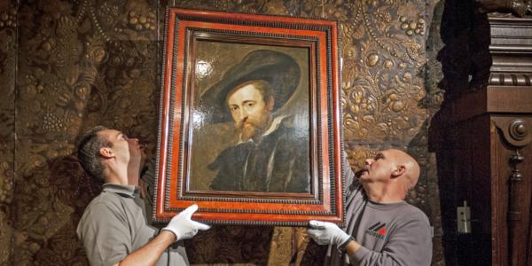 Zelfportret van Rubens - Rubenshuis