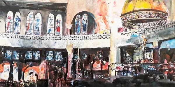 Schilderij van Linda Verhoeven