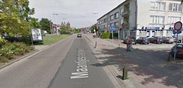 Kruispunt Overhout - Maantjessteenweg