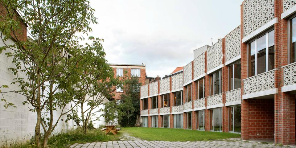Een vernieuwende, alternatieve woonvorm in Antwerpen.