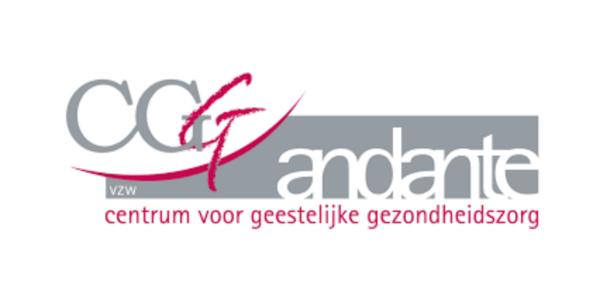 Het logo van CGG Andante.