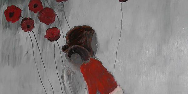 Fragment van een van de werken van Anneleen Gerits