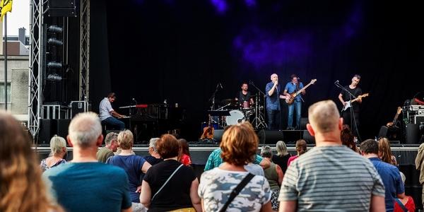 Een concert op de Bist.