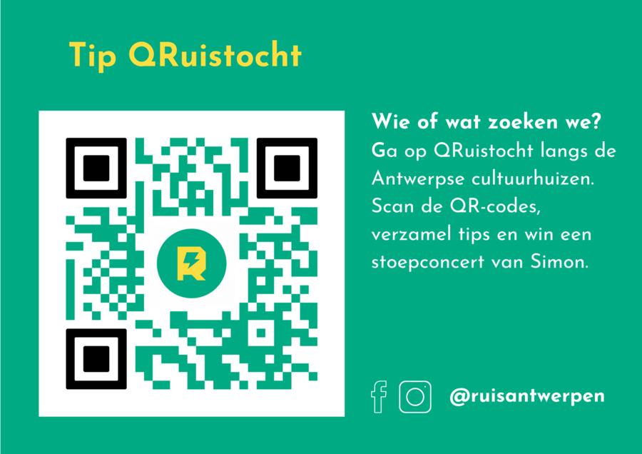 voorbeeld QR code QRuistocht wedstrijd
