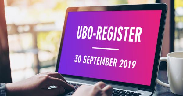 Computerscherm met daarop het woord 'UBO-register'