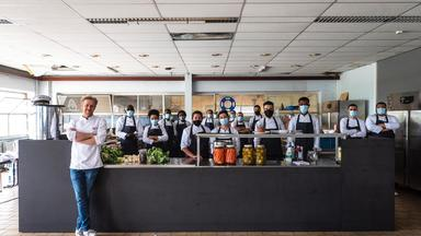 Exotisch eten in het pop-uprestaurant van Seppe Nobels