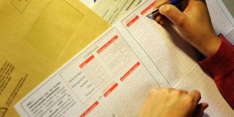 Invullen van belastingbrief