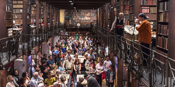 Nottebohmzaal Erfgoedbibliotheek Hendrik Conscience