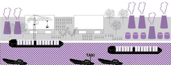 beeld bij verhaallijn 3: de dorpen en de haven