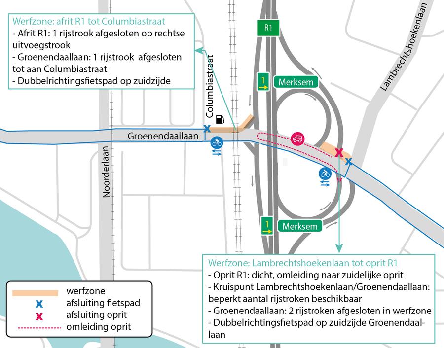 Verkeerssituatie juli 2021