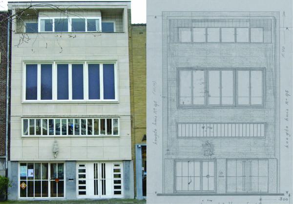 Architectuur van de tentoonstellingswijk wordt in kaart gebracht