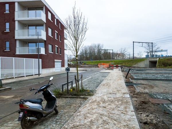 De Fodderiestraat is nu open richting Catharina Lundenhof