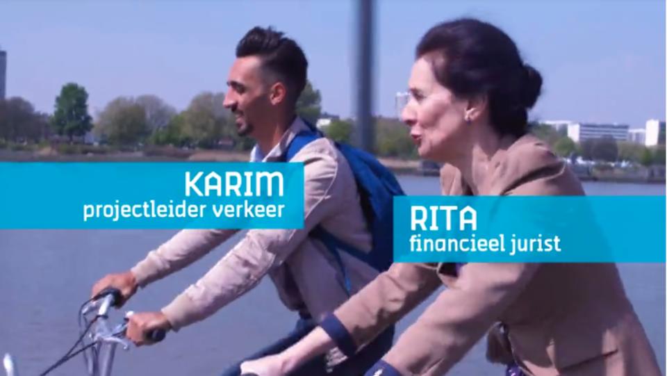 Opnames bedrijfsfilm stad en OCMW Antwerpen