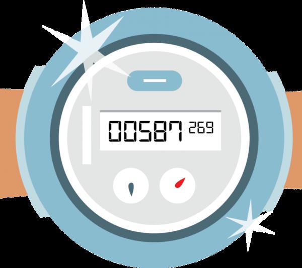 Digitale watermeter