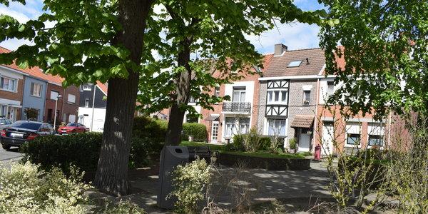 Boernkrijgplein - wijk Merksemheide