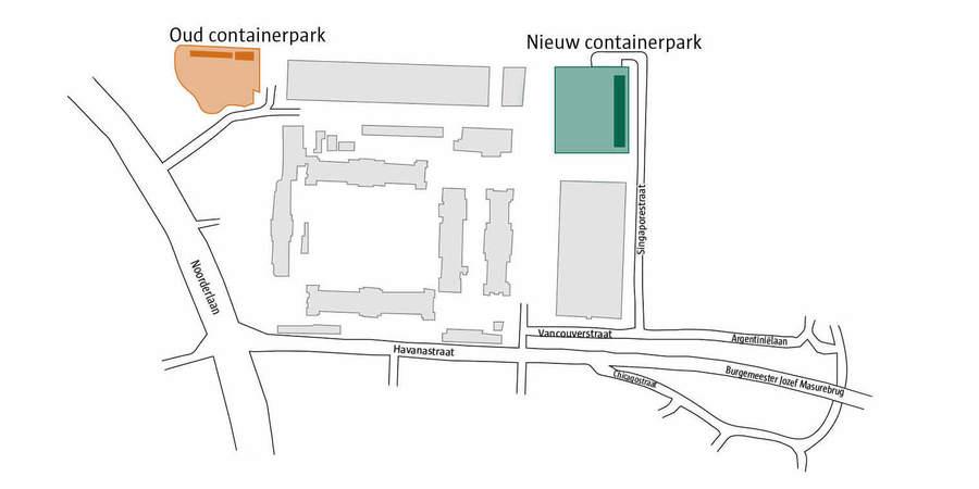plan recyclagepark Luchtbal