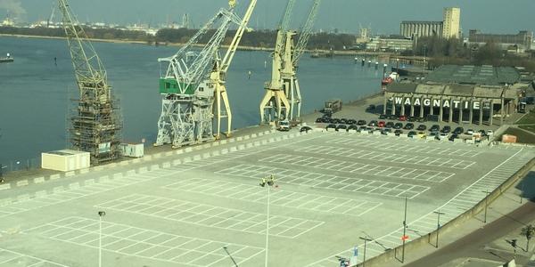 Parking Rijnkaai opnieuw open