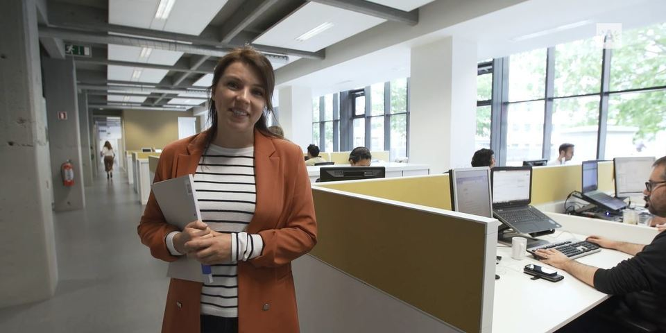 still van stadsreportage 'werken voor stad Antwerpen'