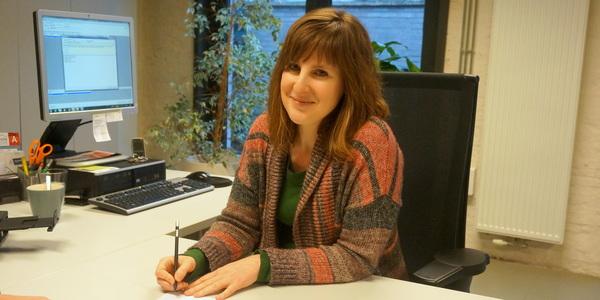 Ilse Janssens is woonadviseur in Woonkantoor Noord