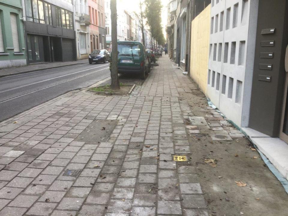 Schade aan voetpad na privatieve werken