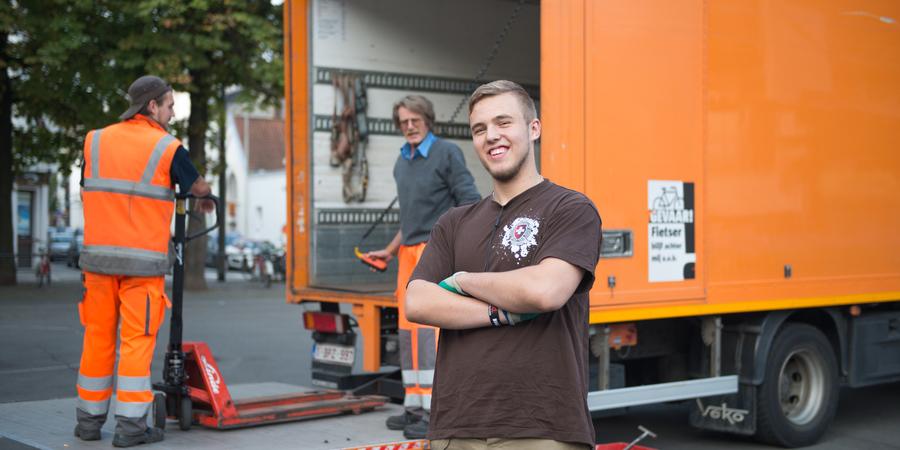Logistiek medewerker - jobstudent bij stad Antwerpen
