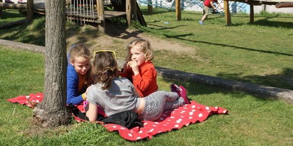 Picknick bij de Buren