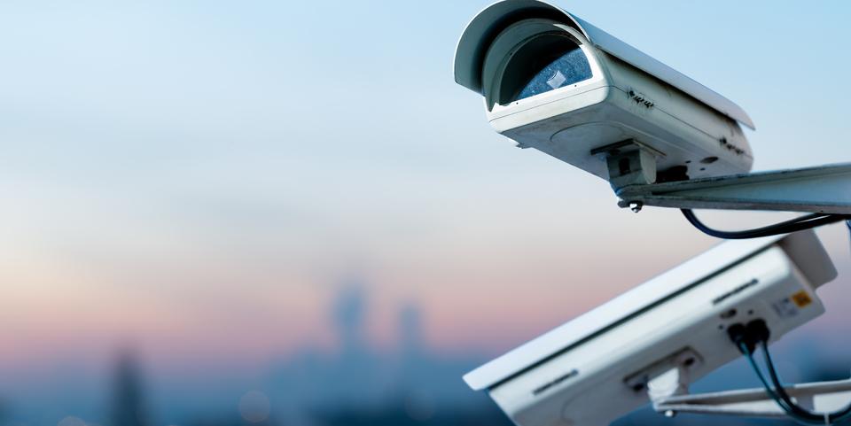 Twee beveiligingscamera's