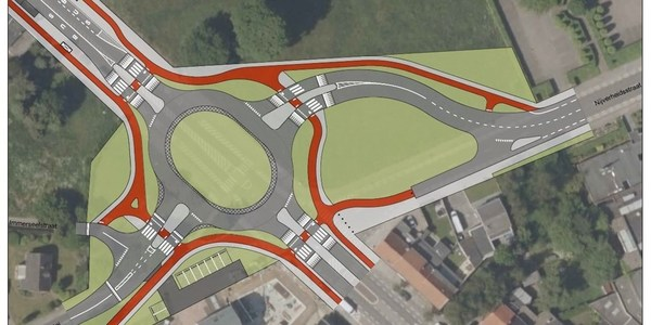 Grote wegenwerken in Wommelgem
