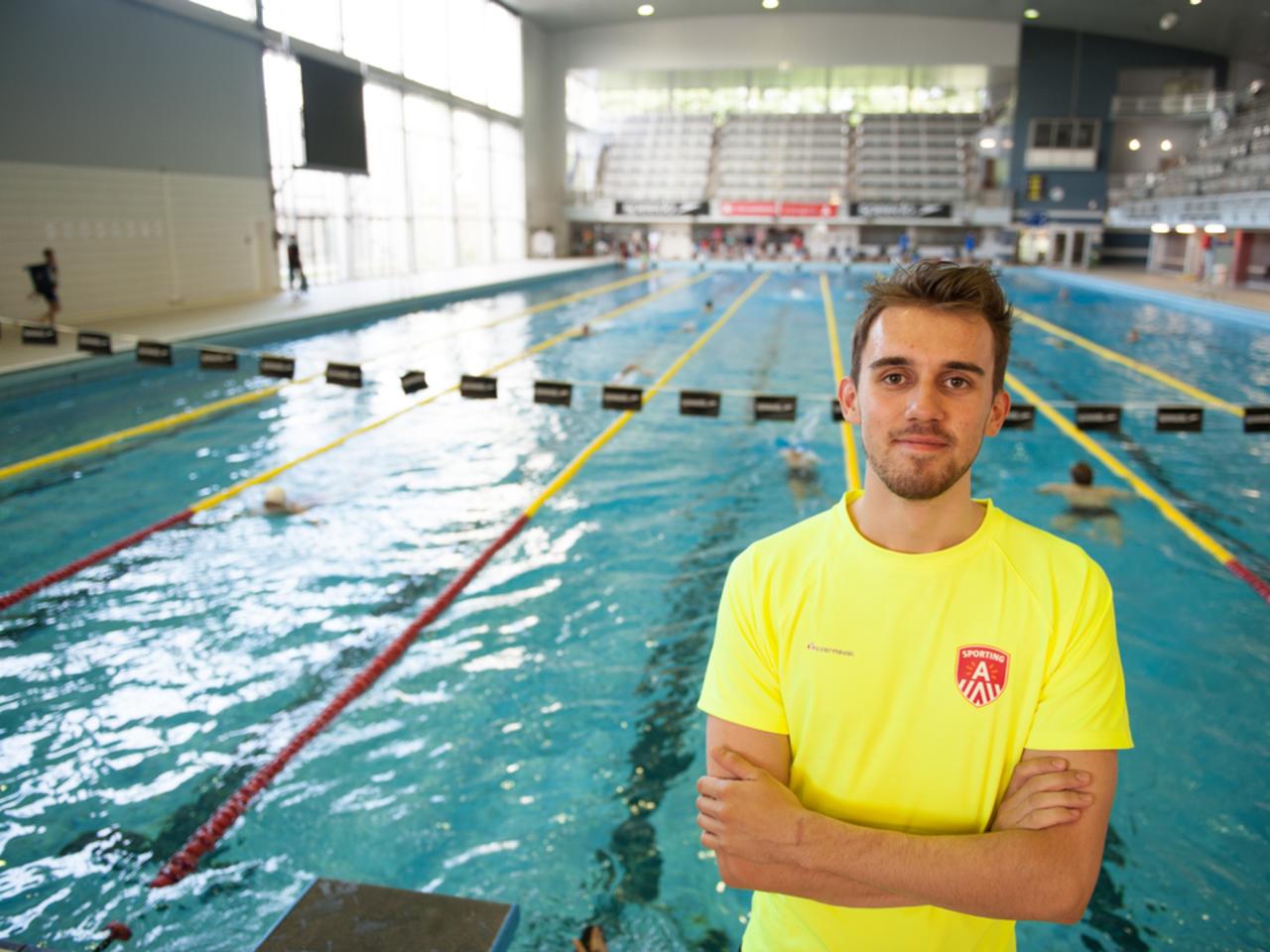 redder in zwemcentrum Wezenberg