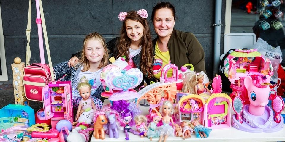 De kinderrommelmarkt: door en voor Wilrijkse kinderen