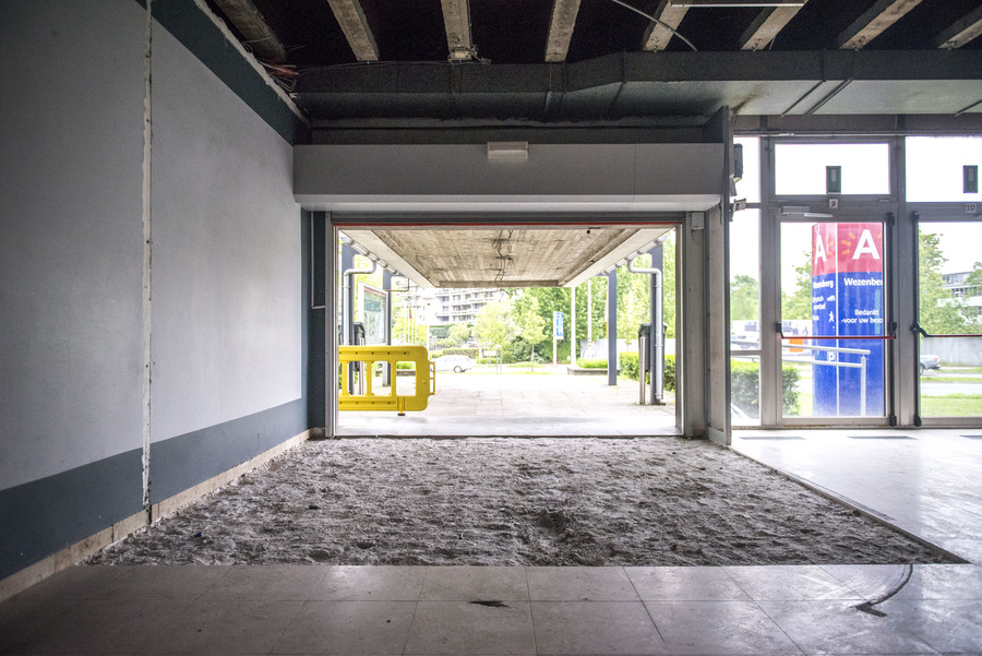 Onthaal van zwembad Wezenberg is gestript in functie van renovatie